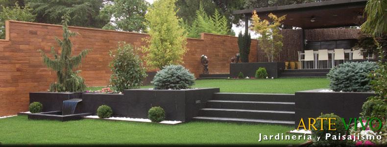 arte vivo jardinera y paisajismo sl es una empresa en expansin ubicada en madrid y dedicada al diseo construccin restauracin y conservacin de