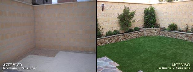 for Jardines 300 metros cuadrados